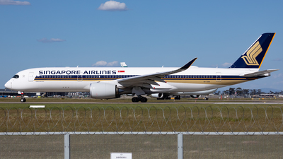 9V-SHM - Airbus A350-941 - Singapore Airlines