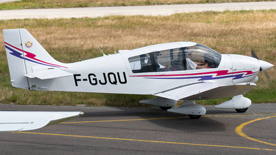 F-GJQU - Robin DR400/140B Major - Private