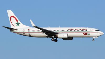CN-RGN - Boeing 737-8B6 - Royal Air Maroc (RAM)