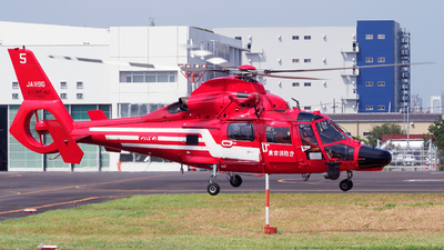 JA119G - Eurocopter AS 365N3 Dauphin - Japan - Tokyo Fire Department