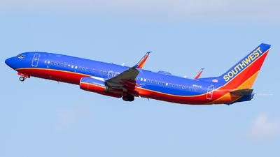A picture of N8641B - Boeing 7378H4 - Southwest Airlines - © Evan Dougherty