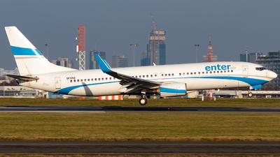 A picture of SPENO - Boeing 7378AS - Enter Air - © Grzesiek Wilczewski