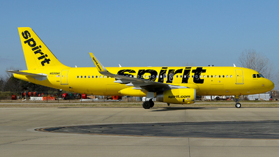 A picture of N696NK - Airbus A320232 - Spirit Airlines - © Carlos Barcelo