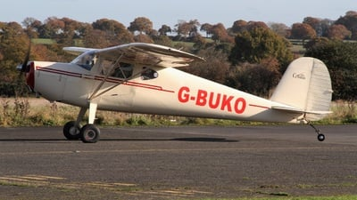 G-BUKO - Cessna 120 - Private