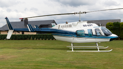 OO-KBT - Bell 206L LongRanger - Crown Helicopters