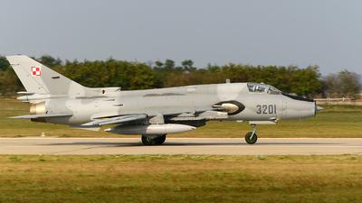 3201 - Sukhoi Su-22M4 Fitter K - Poland - Air Force