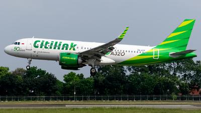 PK-GTF - Airbus A320-251N - Citilink