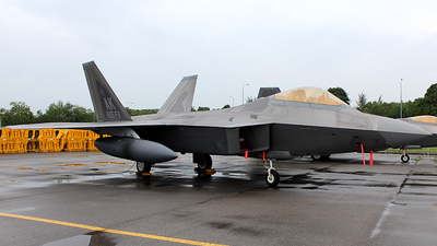 06-4115 - Lockheed Martin F-22A Raptor - United States - US Air Force (USAF)