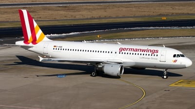 D-AIQE - Airbus A320-211 - Germanwings