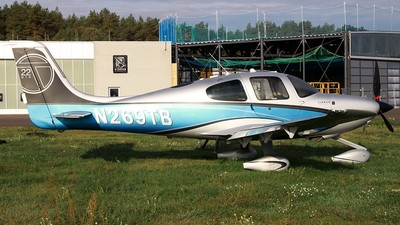 N269TB - Cirrus SR22T - Private