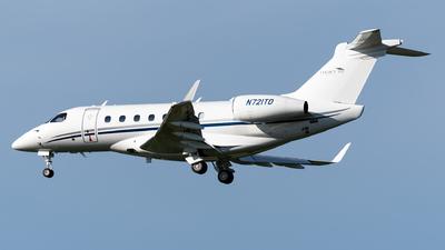 N721TD - Embraer EMB-550 Legacy 500 - Private