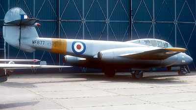 WF877 - Gloster Meteor T.7 - United Kingdom - Royal Air Force (RAF)