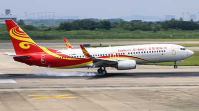 A picture of B5661 - Boeing 73784P - Hainan Airlines - © Jerry.H