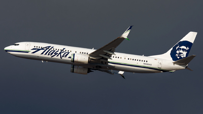 A picture of N486AS - Boeing 737990(ER) - Alaska Airlines - © Kevin Cargo