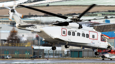 A picture of GCHCK - Sikorsky S92A Helibus - CHC Helikopter Service - © Rrimestad