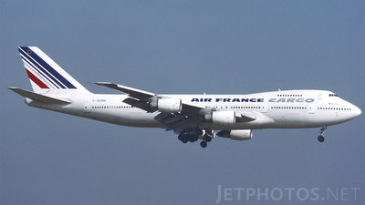 F-GCBD - Boeing 747-228B(SF) - Air France Cargo