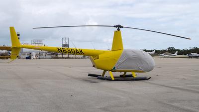 N830AK - Robinson R44 Raven - Private