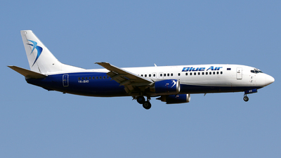YR-BAO - Boeing 737-42C - Blue Air