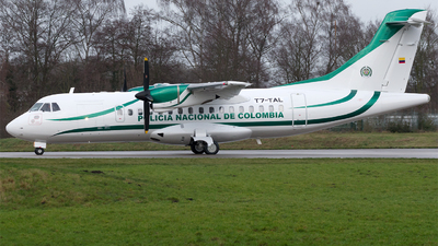T7-TAL - ATR 42-300 - Colombia - Police