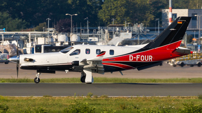D-FOUR - Socata TBM-930 - Private