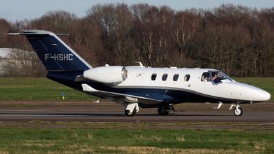 F-HSHC - Cessna 525 CitationJet M2 - Private