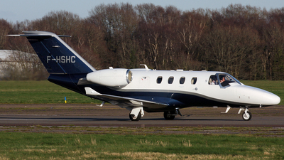 A picture of FHSHC - Cessna 525 Citation M2 - [5250972] - © Terry Wade