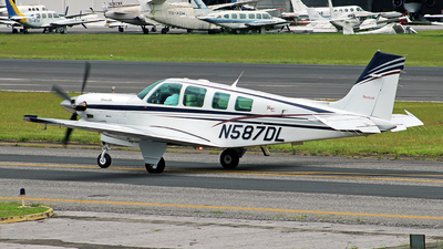 N587DL - Beechcraft B36TC Bonanza - Private