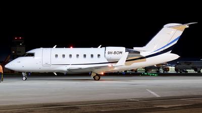 9H-BOM - Bombardier CL-600-2B16 Challenger 605 - Orion Malta Airline