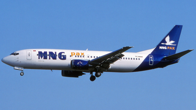 TC-MNH - Boeing 737-448 - MNG Airlines