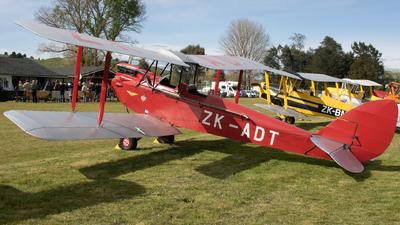 ZK-ADT - De Havilland DH-60G Gipsy Moth - Private