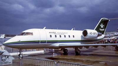 HZ-SFS - Bombardier CL-600-2B16 Challenger 601 - Saudia - Special Flight Services
