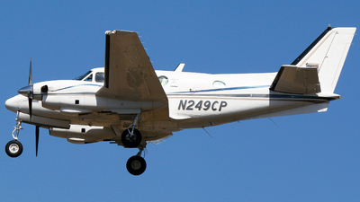 N249CP - Beechcraft C90 King Air - Private
