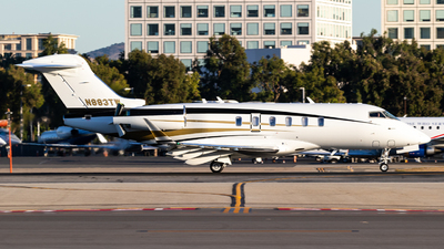N883TW - Bombardier BD-100-1A10 Challenger 350 - Private