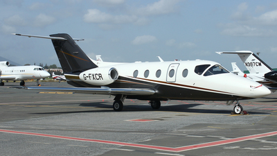 G-FXCR - Hawker Beechcraft 400XP - Private