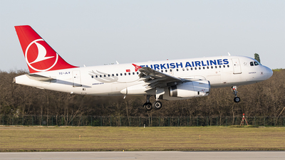 A picture of TCJLV - Airbus A319132 - Turkish Airlines - © Daniel Koskar