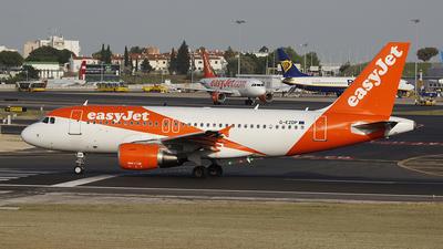 G-EZDP - Airbus A319-111 - easyJet