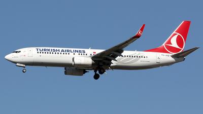 TC-JVZ - Boeing 737-8F2 - Turkish Airlines