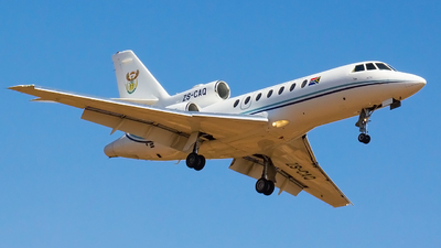 ZS-CAQ - Dassault Falcon 50 - South Africa - Air Force
