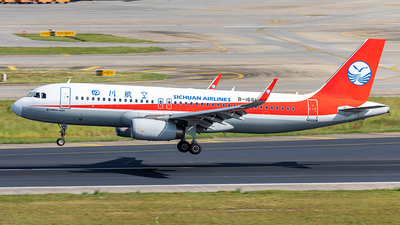A picture of B1661 - Airbus A320232 - Sichuan Airlines - © Yan Shuai