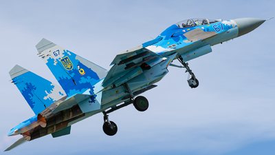 67 - Sukhoi Su-27UB Flanker C - Ukraine - Air Force