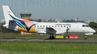 VH-VNY - Saab 340B - Vincent Aviation