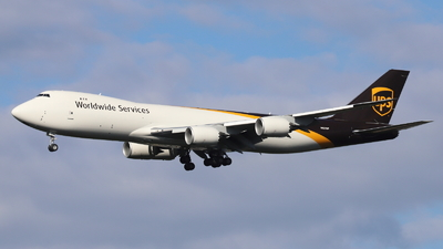 N621UP - Boeing 747-84AF - United Parcel Service (UPS)