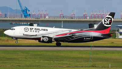 B-2966 - Boeing 737-33A(SF) - SF Airlines