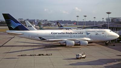 PK-GSI - Boeing 747-441 - Garuda Indonesia