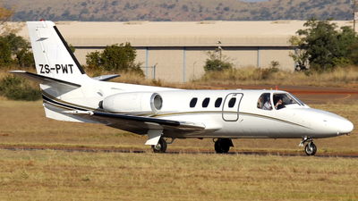 ZS-PWT - Cessna 500 Citation 1 - Private