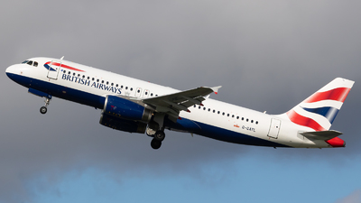 A picture of GGATL - Airbus A320232 - British Airways - © Kuba Kawczynski