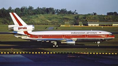 PK-GIE - McDonnell Douglas DC-10-30 - Garuda Indonesia