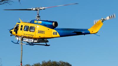 VH-SMI - Bell 214B-1 - McDermott Aviation