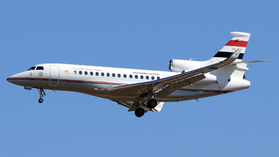 SU-BTW - Dassault Falcon 8X - Egypt - Government