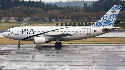 AP-BEB - Airbus A310-308 - Pakistan International Airlines (PIA)